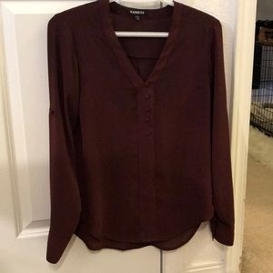 Express long sleeve blouse.